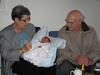 Mormor og morfar på besøg