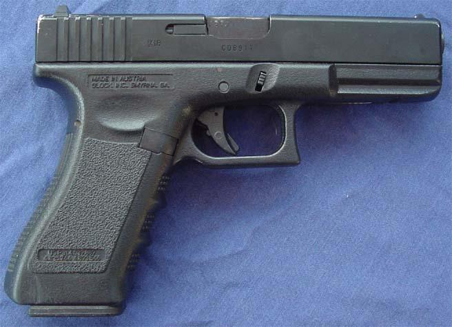 En Glock-pistol
